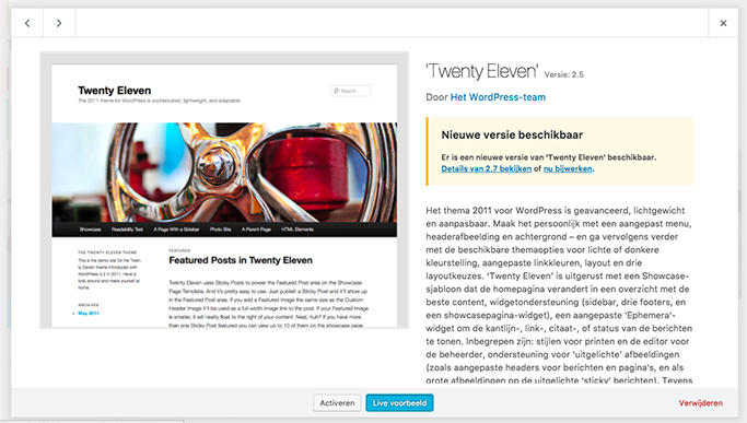 Je WordPress, plugins of thema updaten | Eunoia Studio