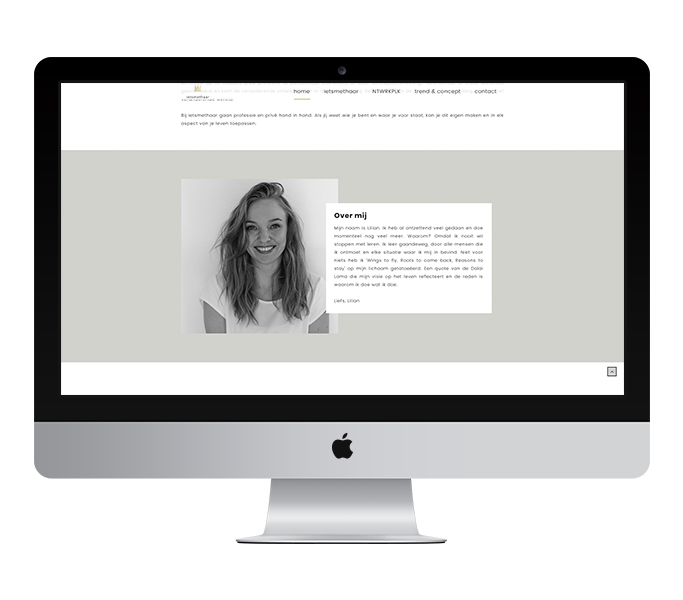 Webdesign: ietsmethaar | Eunoia Studio