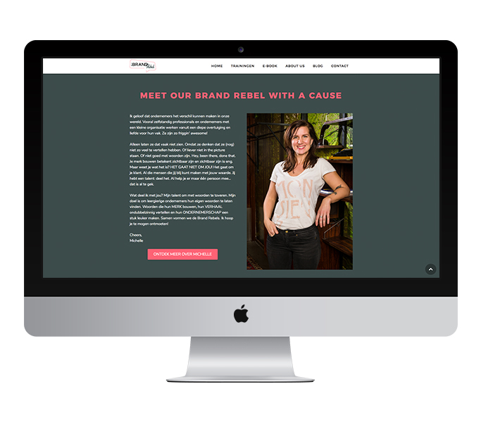Website: Be a Brand Rebel | Eunoia Studio