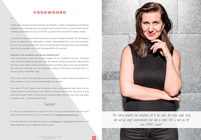 eBook - Be a Brand Rebel | Eunoia Studio