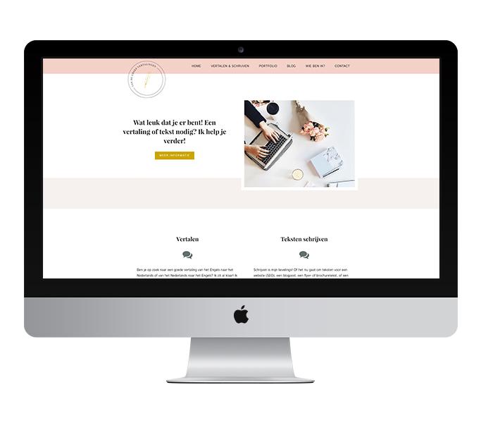 Webdesign: Van de Groep Vertalingen | Eunoia Studio