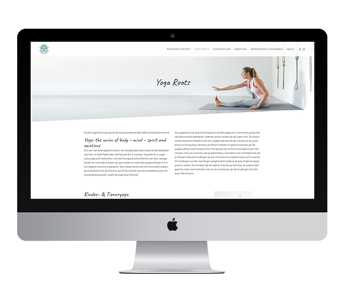 Website: Yoga Roots Amsterdam | Eunoia Studio