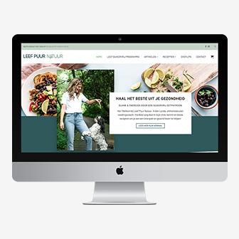 Webdesign: Leef Puur Natuur   Eunoia Studio