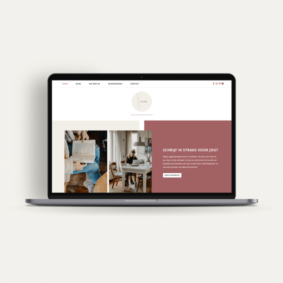 Webdesign: Blezer | Eunoia Studio