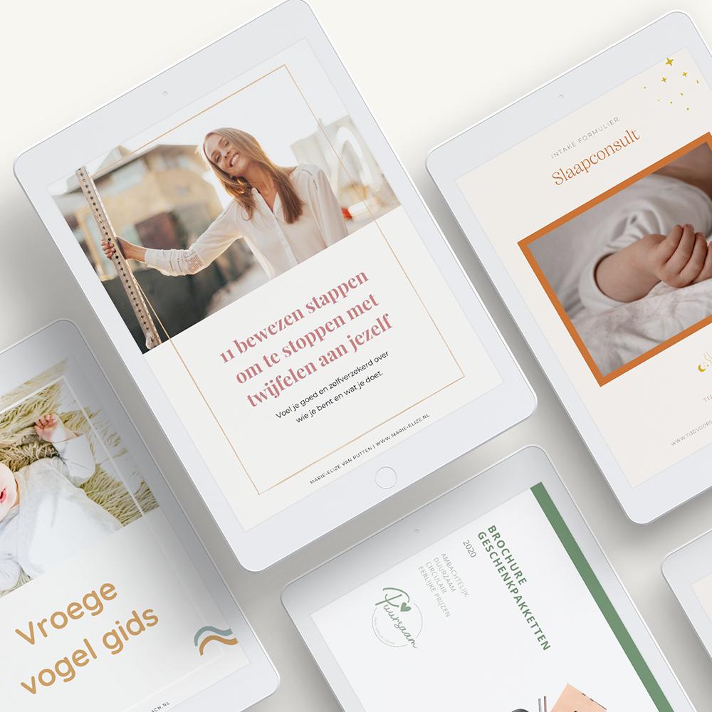 E-book Design | Werkboek ontwerp | Eunoia Studio