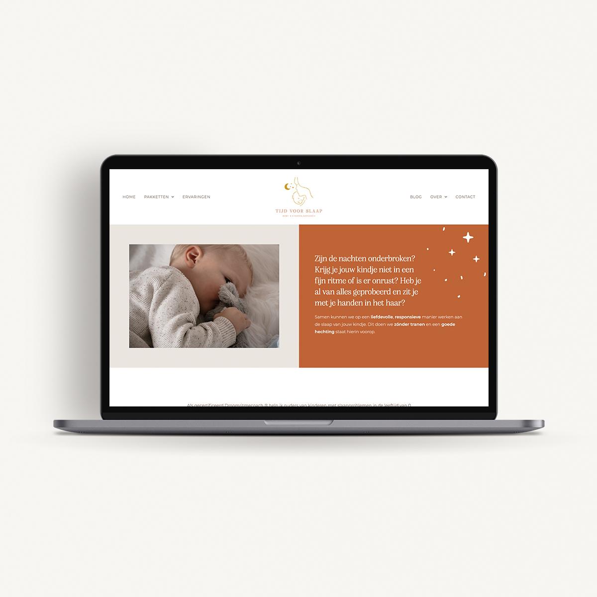 Webdesign: Tijd voor Slaap | Eunoia Studio