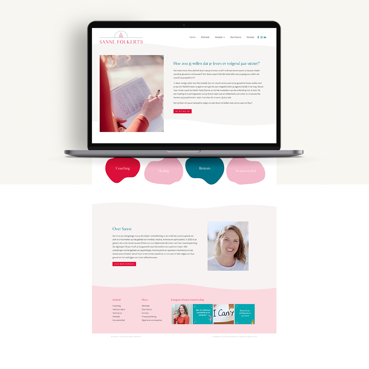Webdesign: Sanne Folkerts | Eunoia Studio